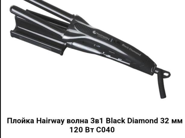 Плойка 3в1 Hairway щипцы-гофре парикмахерское
