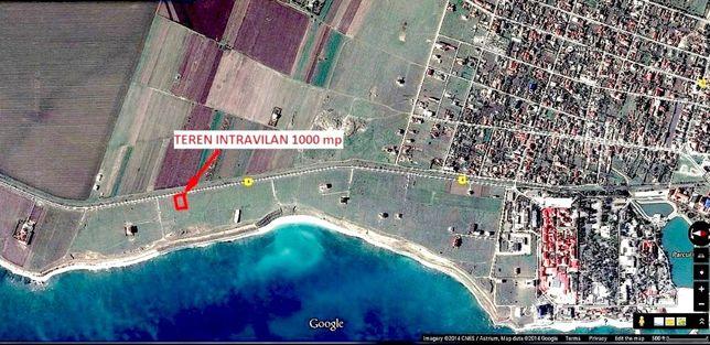 Vind 1000mp teren intravilan in Costinesti-Schitu, la Golful Francez,