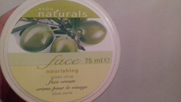 Крем за лице с маслина