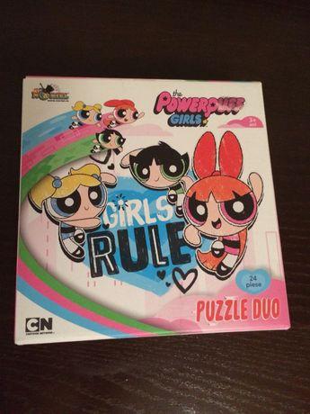 Puzzle fetitele powerpuff