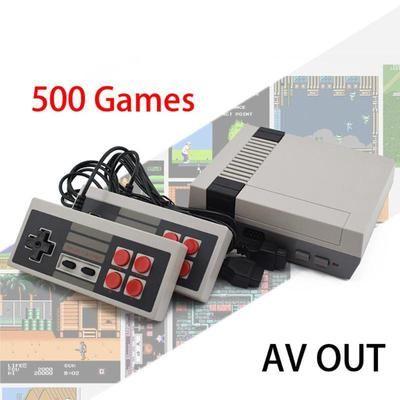 Nintendo NES 500 встроенных игр. Супер Марио, Танчики, Контра и т.д.