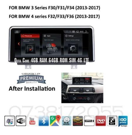 Navigatie Android GPS BMW NBT F30 F30 F31 F32 F33 F34 Garantie noua