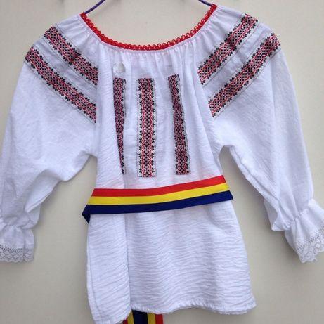VAND camasa IE bluza COPII costum national traditional popular 4-5-6