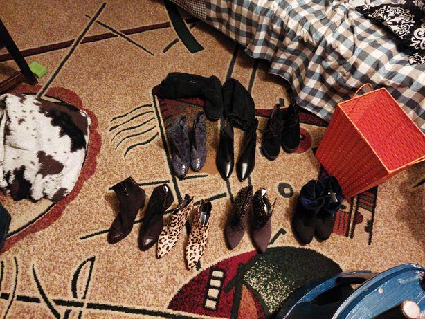 Обувь женская 39 размер, кожа оригинал, не носили цена