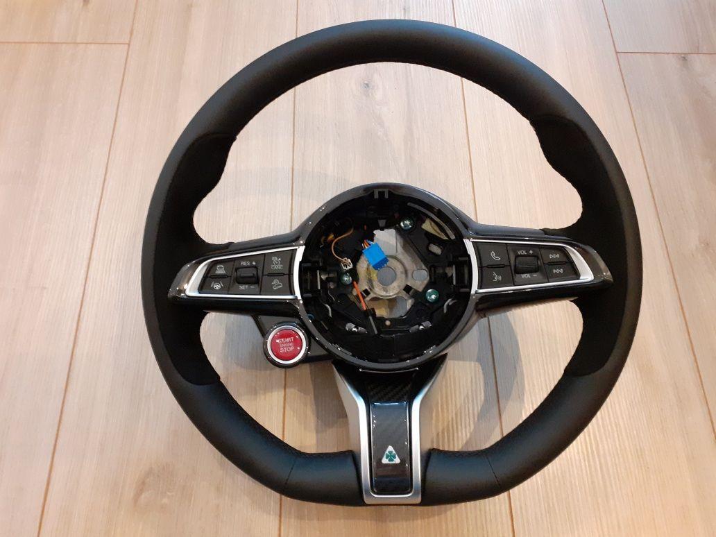 Volan nou Alfa Romeo Giulia si Stelvio
