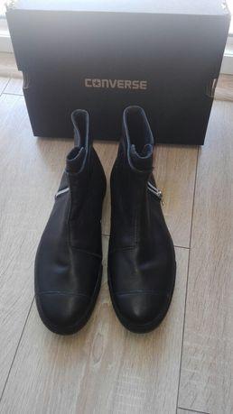 Спортни обувки Converse естествена кожа