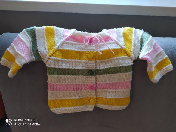 За любители на плетени детски дрешки