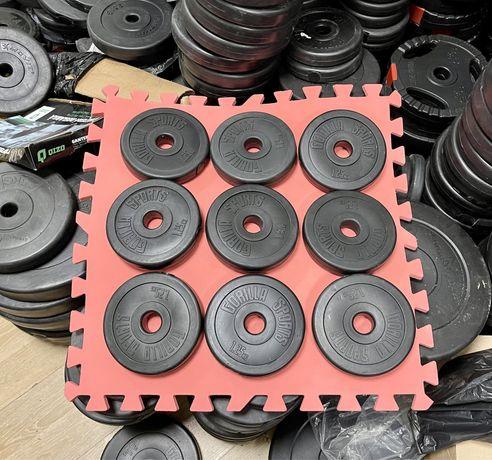 Discuri pt.Gantere reglabile si haltere noi de 1,25 kg.30 mm. germany