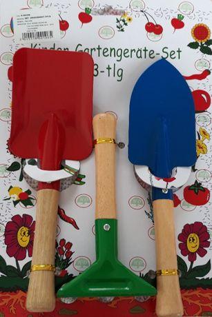 Set din 3 piese grădinărit pentru copii