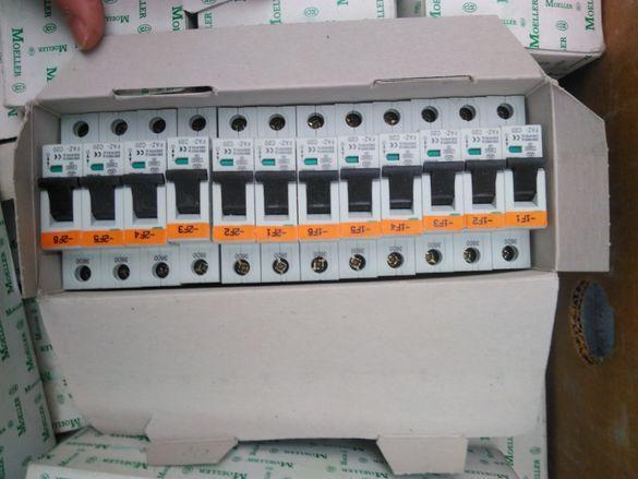 Продавам германски автоматични предпазители Moeller FAZ C 20А