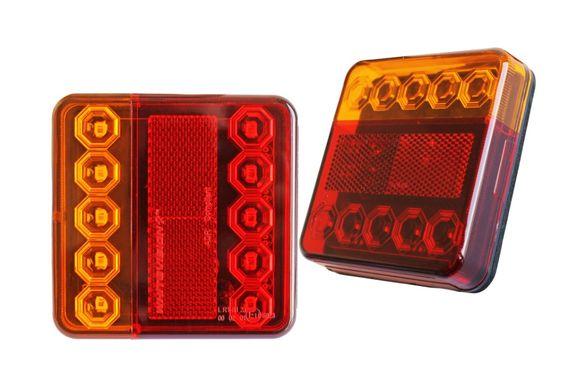 Стопове LED Диодни 12в. за Ремаркета Каравани Колесари Платформи 2бр.
