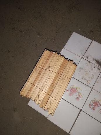 Vând 18 legături parchet din lemn