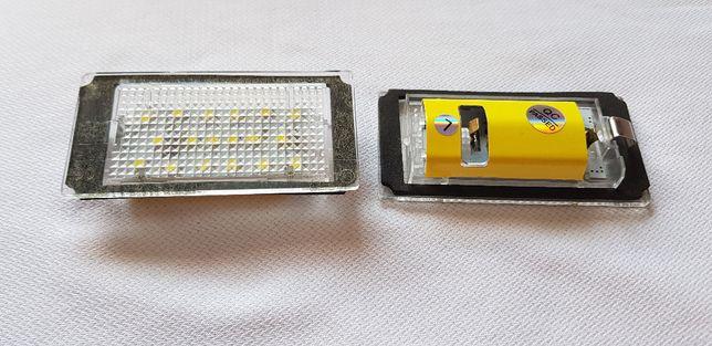 Lampi numar LED dedicate pentru BMW E 46 Sedan / Touring , set 2 bc.