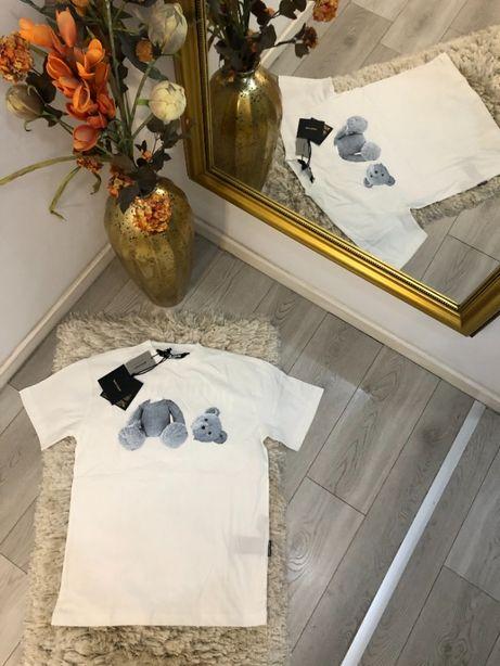 tricou Palm Angels colectia noua TOP alb/negru