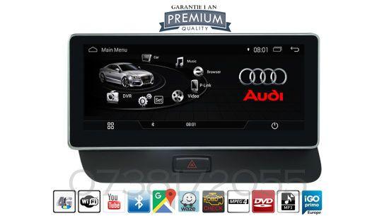Navigatie GPS Audi Q5 Audi Concert Symphony MP3 4G WI-FI Bluetooth