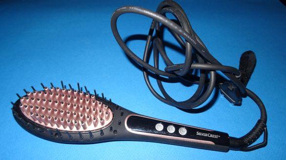 Електрическа четка за изправяне на коса Silver Crest
