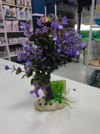 Аквадекор для аквариума, аквадекор растение
