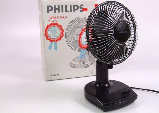 Ventilator birou PHILIPS - eficient, 2 trepte, silentios, mobil, NOU