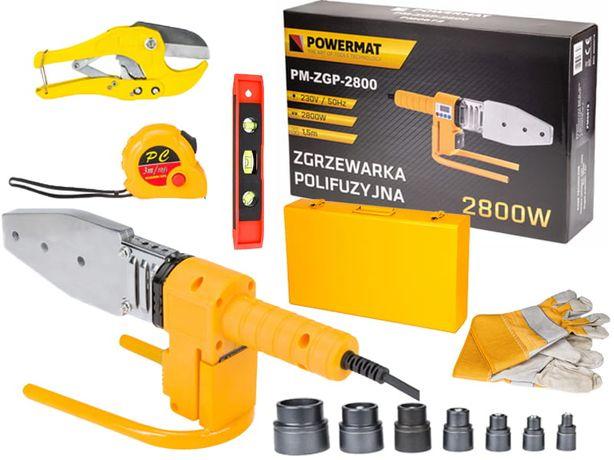 Trusa pentru lipit tevi PPR 2800W/PM-ZGP-2800