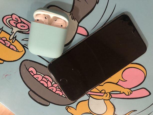 iPhone 6, 128 Гб и airpods ! Все оригинал