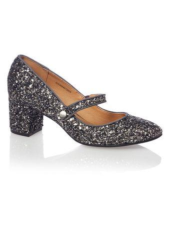 Pantofi TU glitter / sclipici noi, cu eticheta, de ocazie, Revelion
