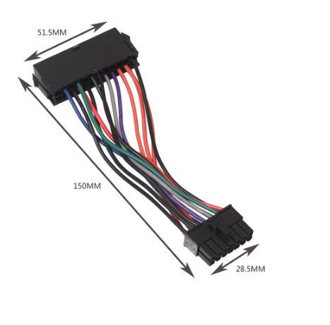 Adaptor Lenovo sursa ATX de la 24pini la 14 pini
