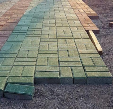 Плитка тротуарная Прямоугольник