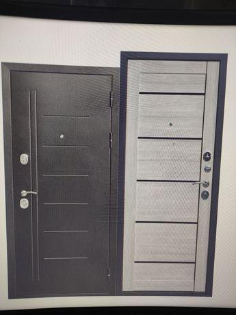 Входная металлическая дверь. Левая. 860мм
