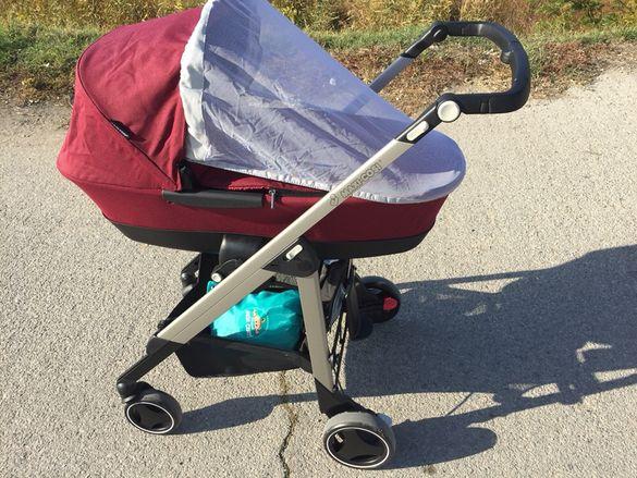НАМАЛЕНА! Бебешка количка 2в1 Maxi Cosi Loola 3 - Robin red