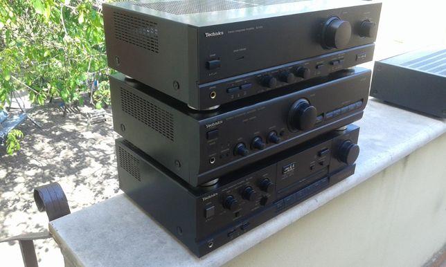 amplificator 2x 100w technics stereo de la