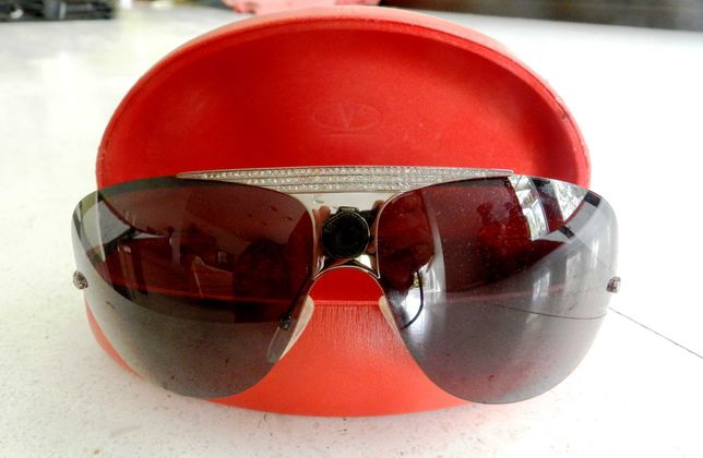 ochelari soare Valentino  RUTHENIUM SMOKE LENS