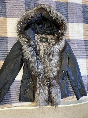 Кожаная куртка!!