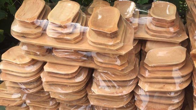 Set platou 13 pise lemn Arin