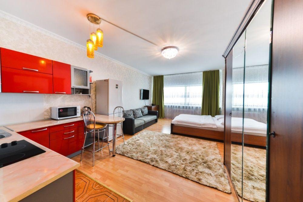 """1-комнатная квартиря в ЖК """"Северное сияние"""" вид на Байтерек"""