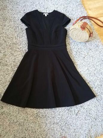 Черна дамска рокля HM