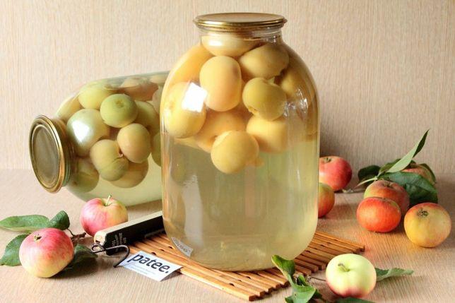 Компот яблочный натуральный