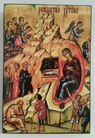 Икона Рождество Христово icona Rojdestvo Hristovo