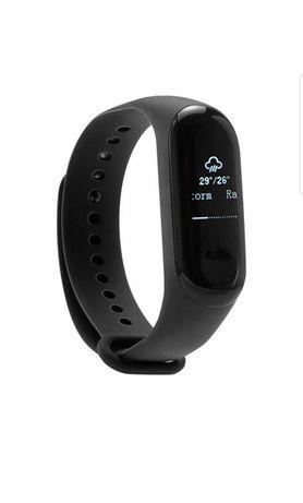 Bratara fitness Xiaomi Mi Band 3, HR, Black