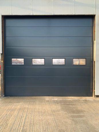 Uși de garaj rezidențiale si industriale, automatizări porți curte