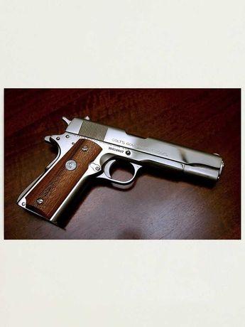 Pistol Airsoft Culoare UNICATA Taurus/Colt 4j UPGRADE Co2