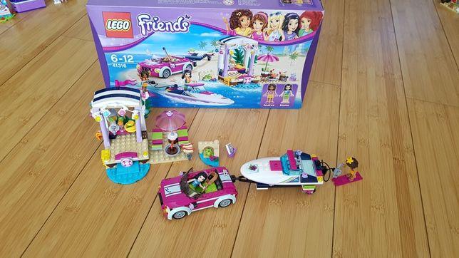 Lego Barca transportoare cu motor a Andreei