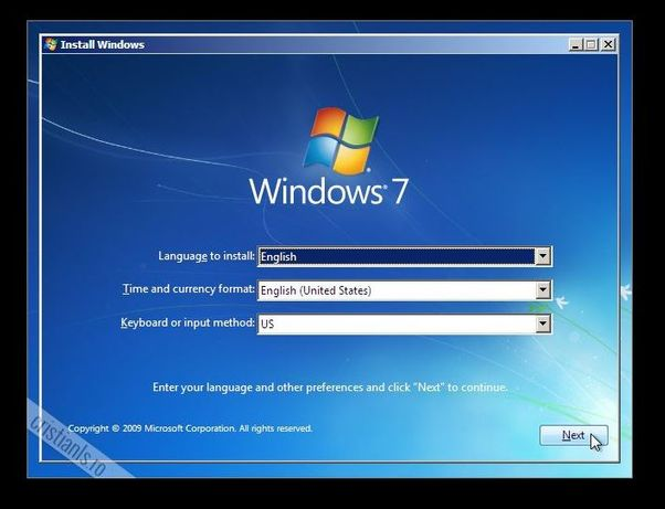 Instalez Windows 7 - 10, modem, router
