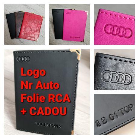 Portofel-Documente-Auto-Personalizat-Logo-Numar-Audi-A4-A6-20TDI-30TDI