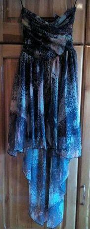 Рокля BERSHKA,Черна рокля MISS SIXTY,Рокля на точки и цветя;Дълга рокл