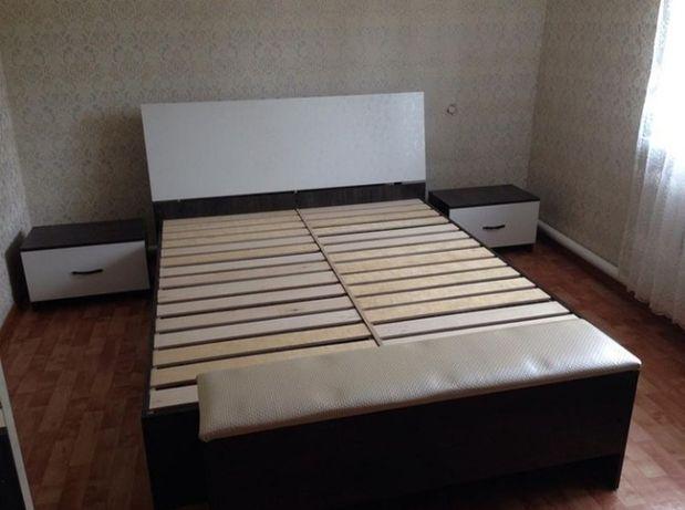 Продам б/у кровать с матрацом. Цена 45тыс