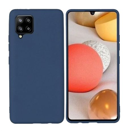 Husa Ultra Slim Samsung A42, Elegance Albastru