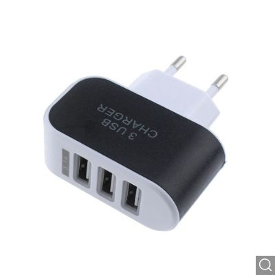 Incarcator USB 3 Amperi,cu trei iesiri