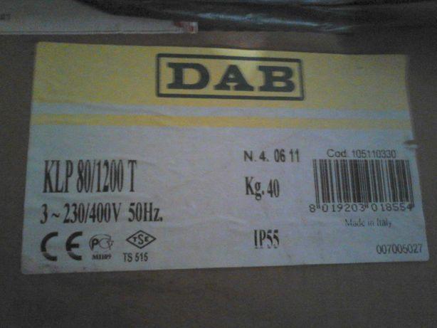 Pompă  DAB , Pompa electrica