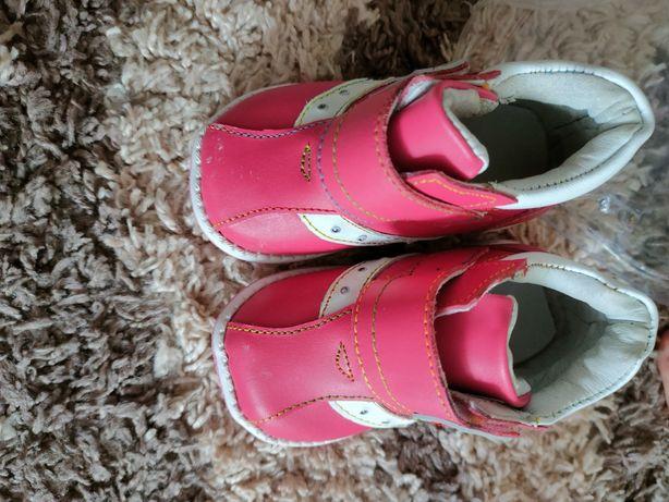Кожаные новые осенние ботиночки