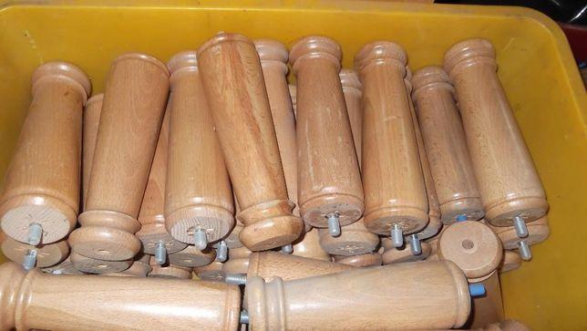Picior lemn mobilier